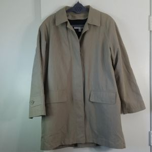 London Fog Double Layer Trench Coat